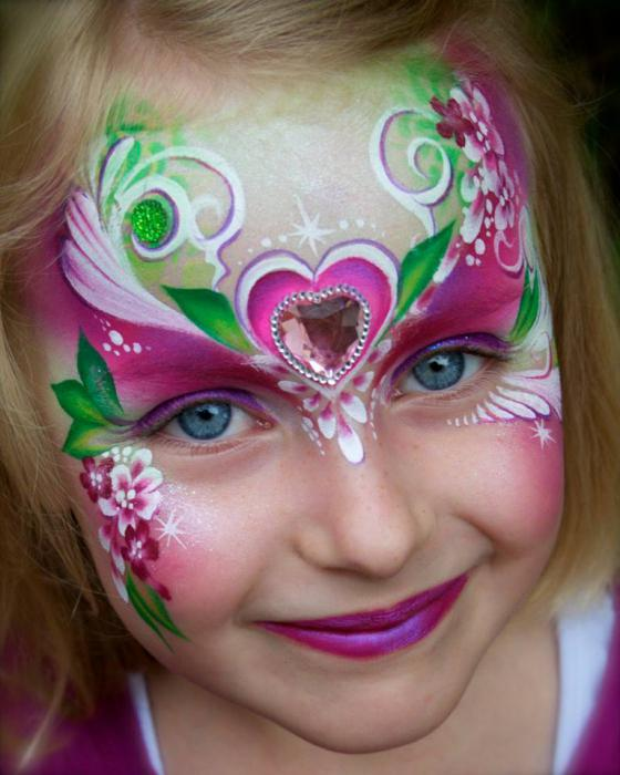 Рисунки на лице для детей. Краски ...: www.syl.ru/article/185215/new_risunki-na-litse-dlya-detey-kraski...