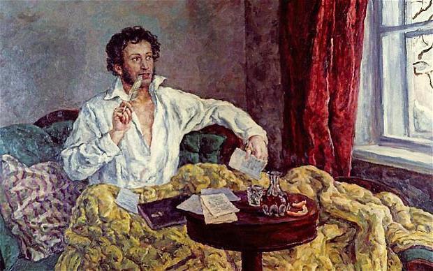 биография пушкина википедия