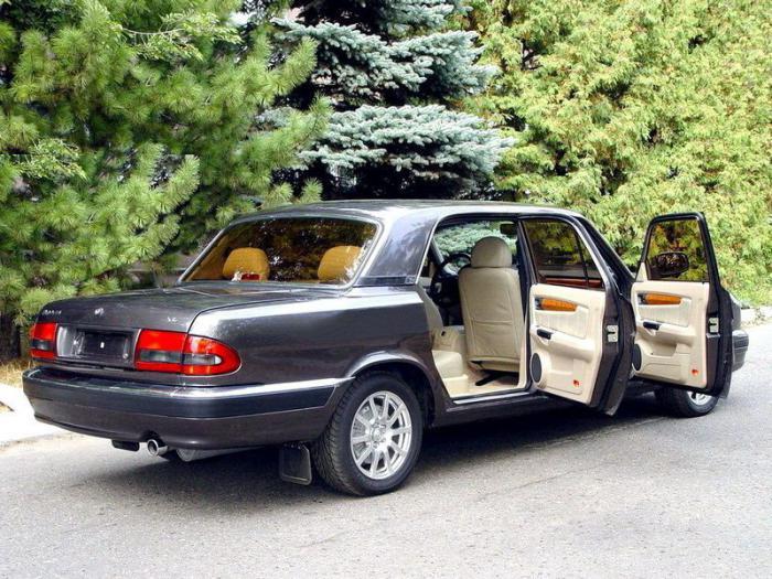 Волга ГАЗ-31105: технические характеристики автомобиля