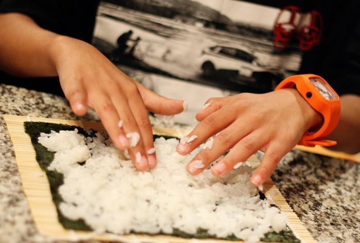 суши роллы своими руками