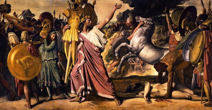 Romulus and Rem legend