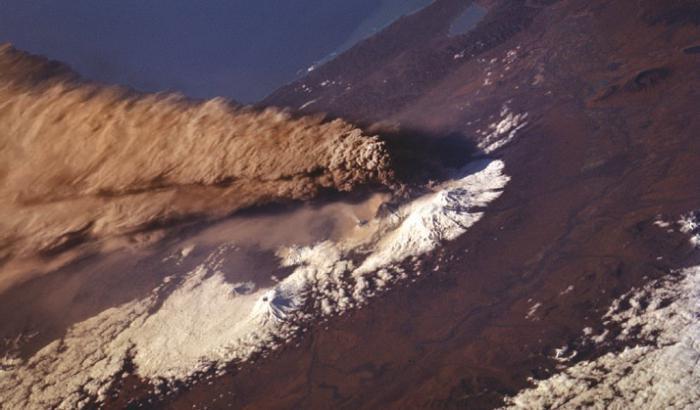 Ключевская сопка извержение