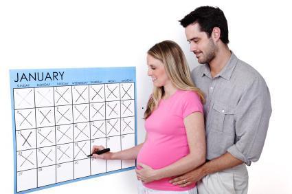 рассчитать дату родов по дате зачатия
