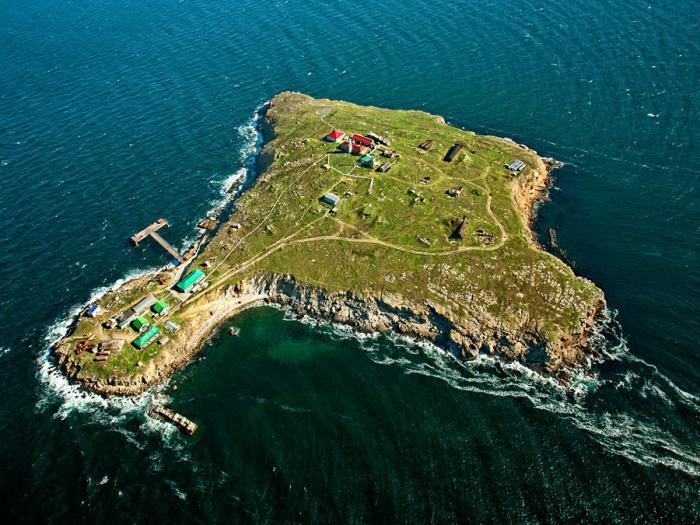 Ukrainians island Sani