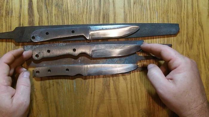 Как правильно сделать нож своими руками