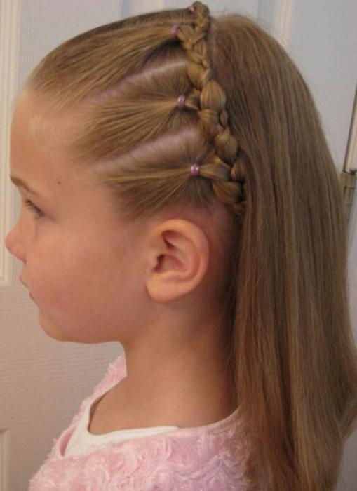 детские прически на длинные волосы своими руками фото