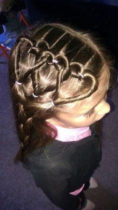 детские прически на длинные волосы своими руками