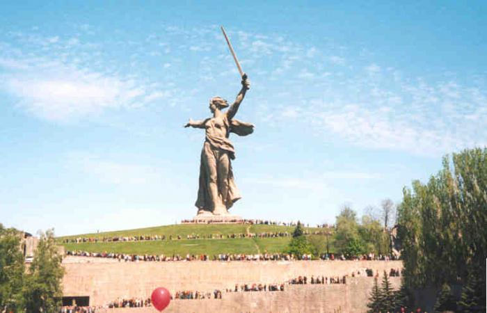 The name of the monuments of the Great Patriotic War.