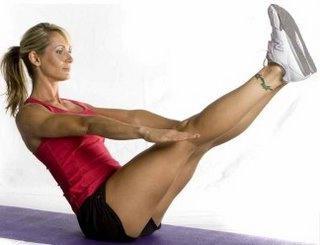 Isometric exercises for women
