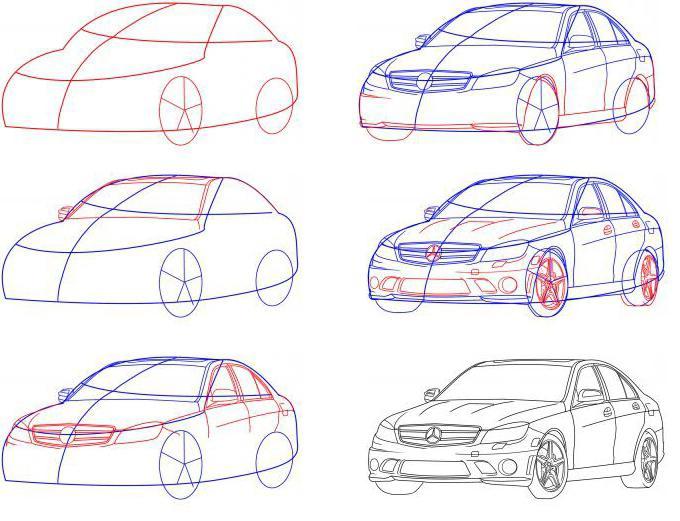 Как сделать машину поэтапно