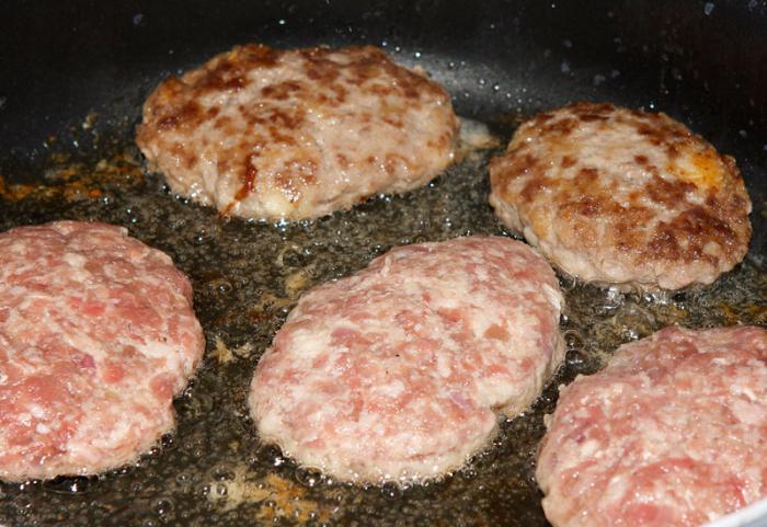 Рецепт котлет мяса фото