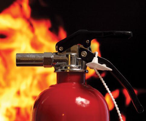 Огнетушитель автомобильный для постановки