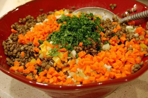 Chanterelle salad recipe with photos