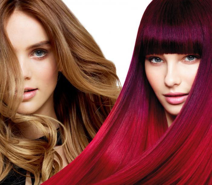 Профессиональная краска для волос отзывы