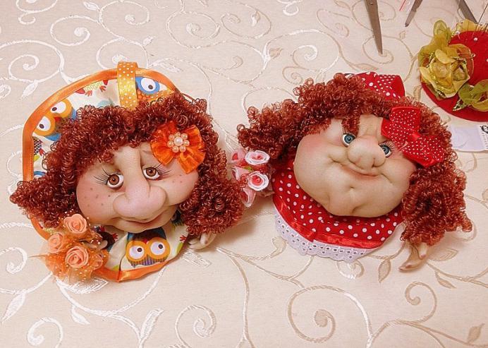 Кукла своими руками мастер класс попики