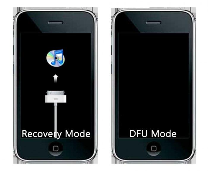 how to enter dfu mode