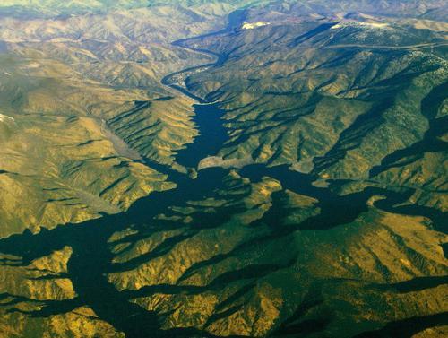 енисей река на карте
