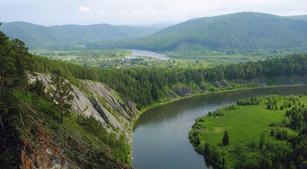 исток реки енисей