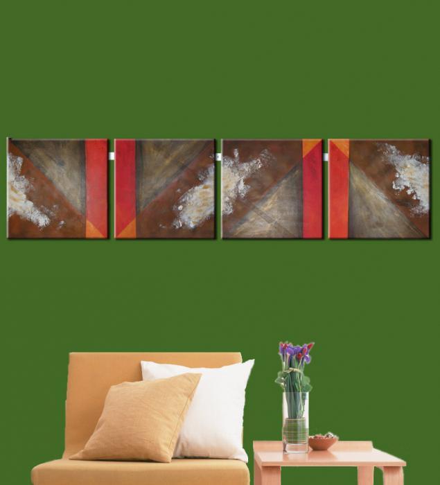 Модульные картины своими руками пошагово с фото 60