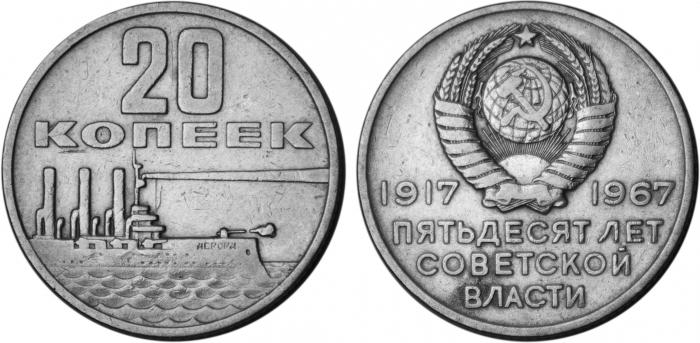 commemorative coins of the USSR most expensive