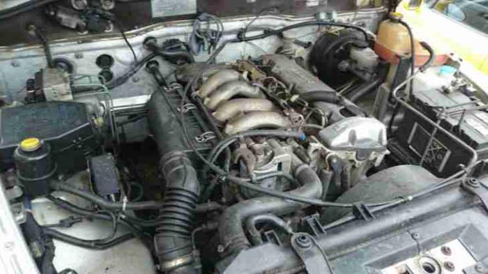 Sang Yong Kyron engine