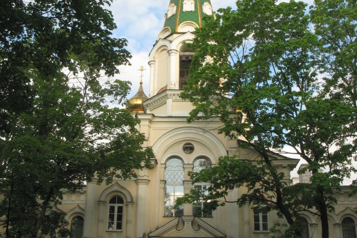 Resurrection Novodevichy Convent St. Petersburg
