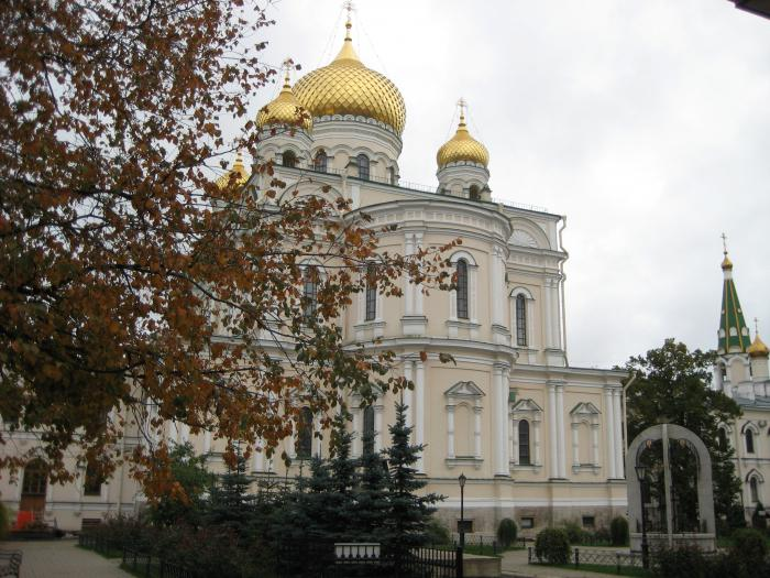 Novodevichy Convent in St. Petersburg