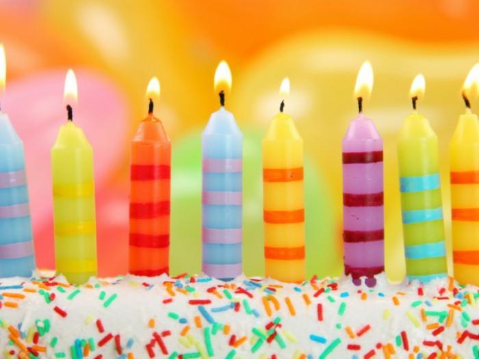 Простые красивые поздравления с днем рождения 134