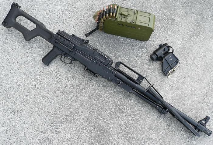 Печенег 2 пулемет