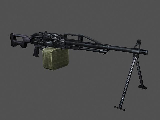 Поскольку «Печенег» - пулемет