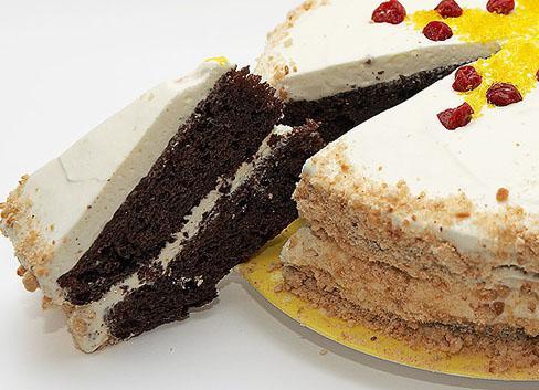 рецепт торт черемуховый со сметаной рецепт