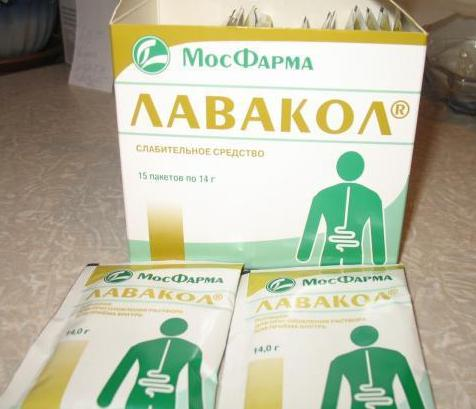 Слабительное средство для очищения кишечника в домашних  878