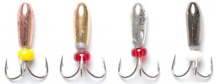 Безнасадочные мормышки для зимней рыбалки