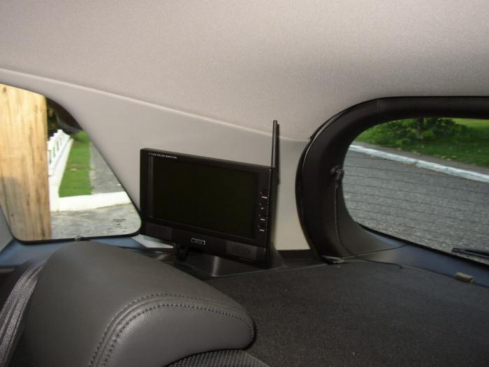 installation of front parking sensors