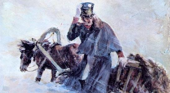 метель пушкин картинки