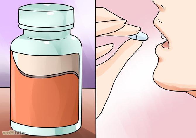 Женщины после приема таблеток