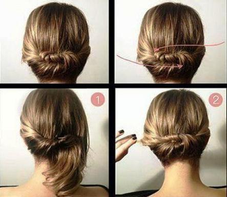 Причёски на каждый день волосы до плеч