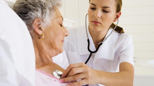 Последствия инсульта у пожилых женщин