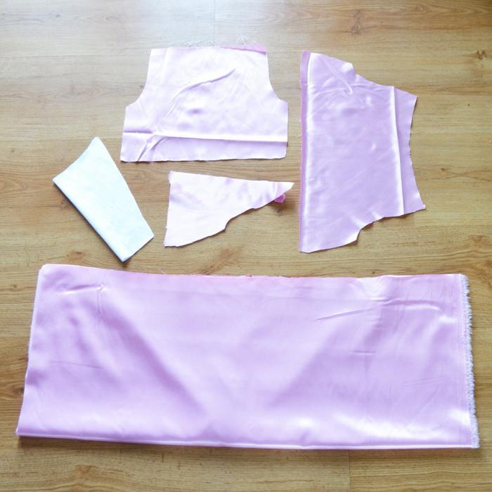 Dress patterns with a fluffy skirt