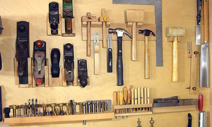 Доска для инструментов своими руками