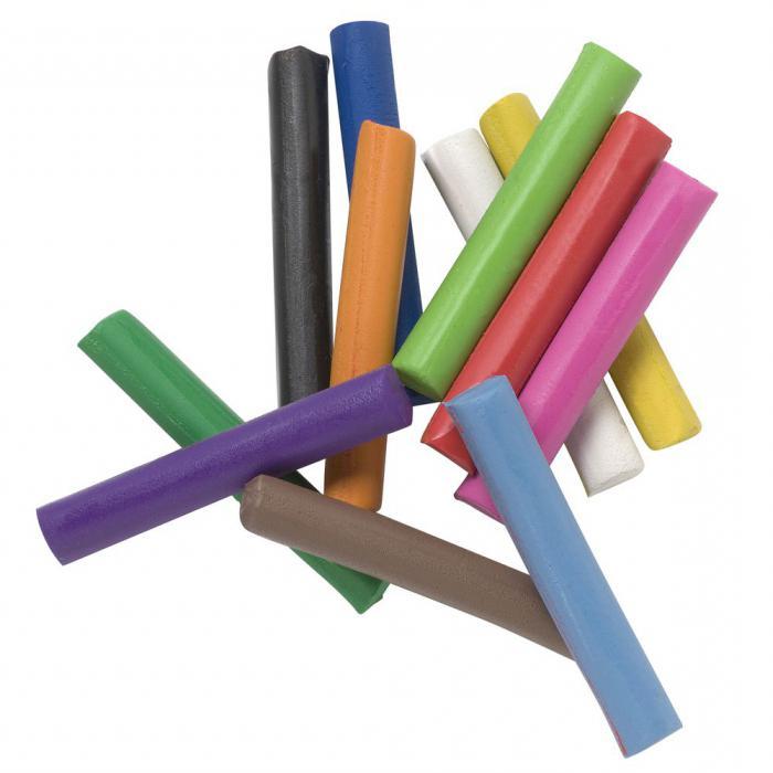 crafts from plasticine for children