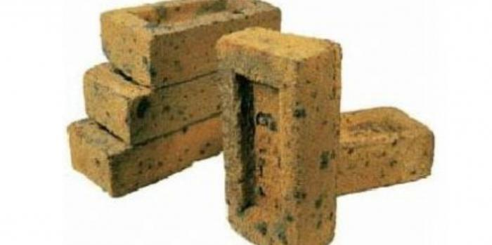 Size of facing bricks standard