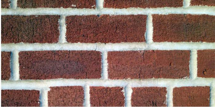 Red facing brick sizes
