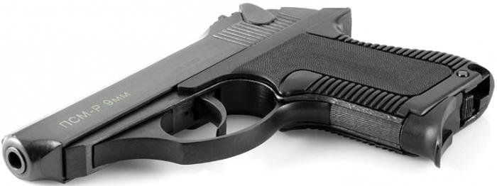 Traumatic pistol PSM
