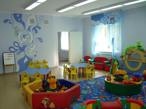 оформление групп в детском саду