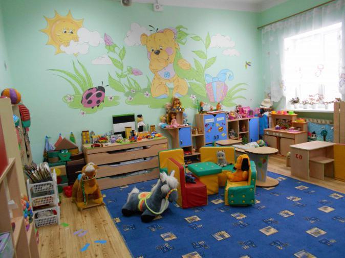 оформление средней группы детского сада