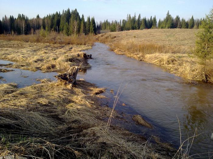 Начало реки Урал