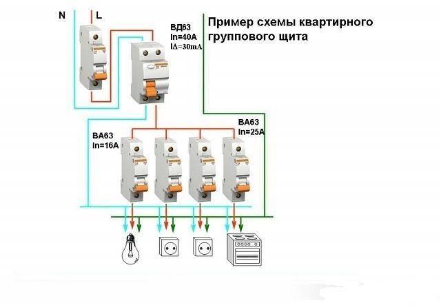 автомат схема