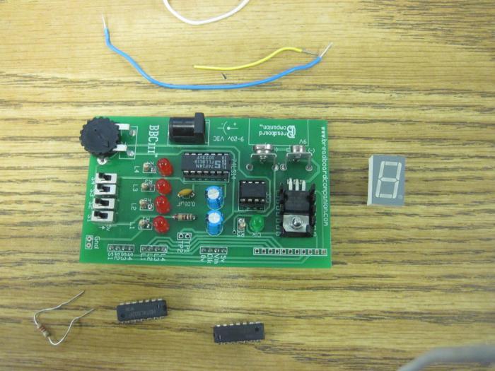 переменный резистор подключение