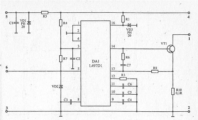 810689 - Схема коммутатора зажигания ваз 2108